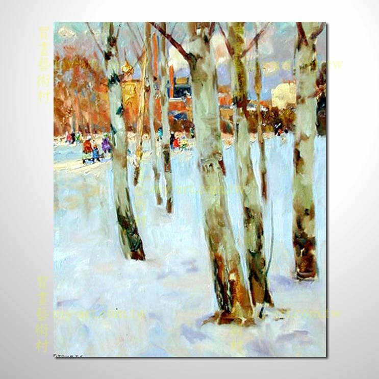 【风景油画】树林137
