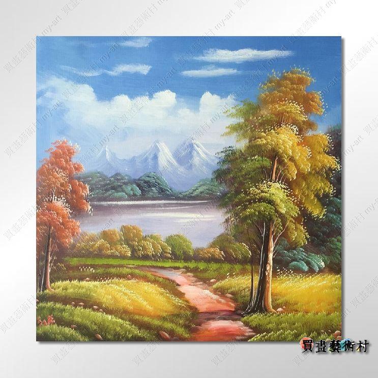 【风景油画】古典风景209 乡村风景画 田园风景画 自然风光 风景油画