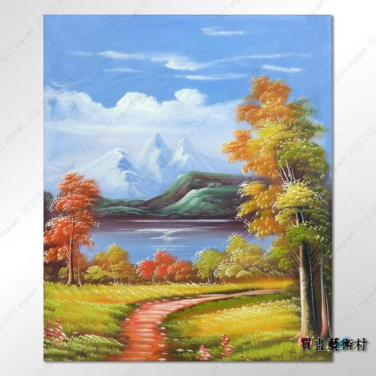 【风景油画】古典风景217 乡村风景画 田园风景画 自然风光 风景油画