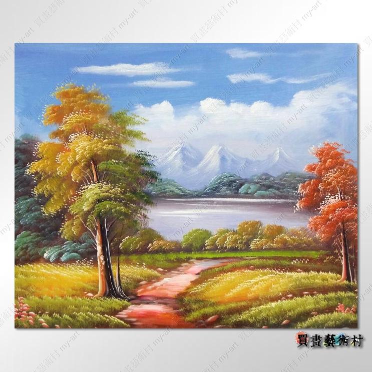 特价现货【风景油画】古典风景216 乡村风景画 田园风景画 自然风光