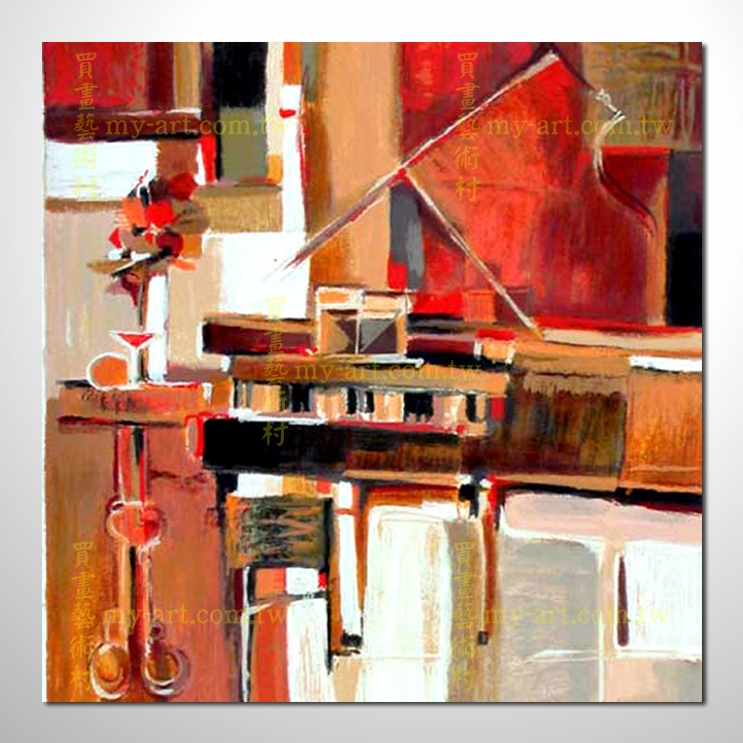 【抽象藝術】抽象樂器20