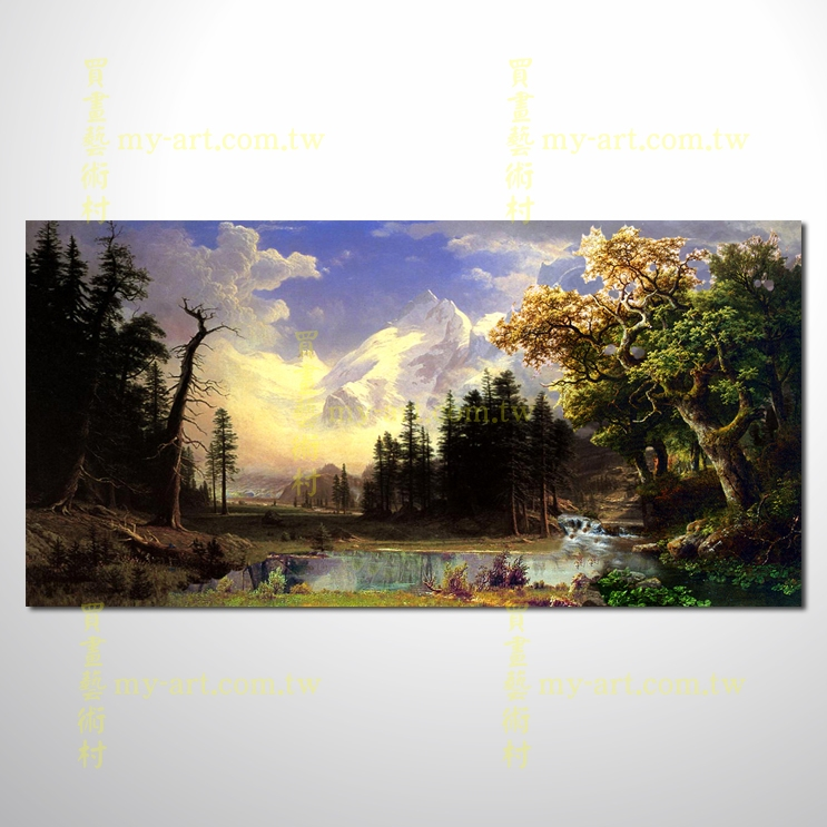 【风景油画】古典风景03