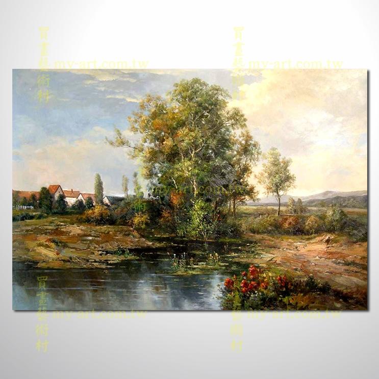 【风景油画】古典风景70_古典风景_精美风景油画_买画