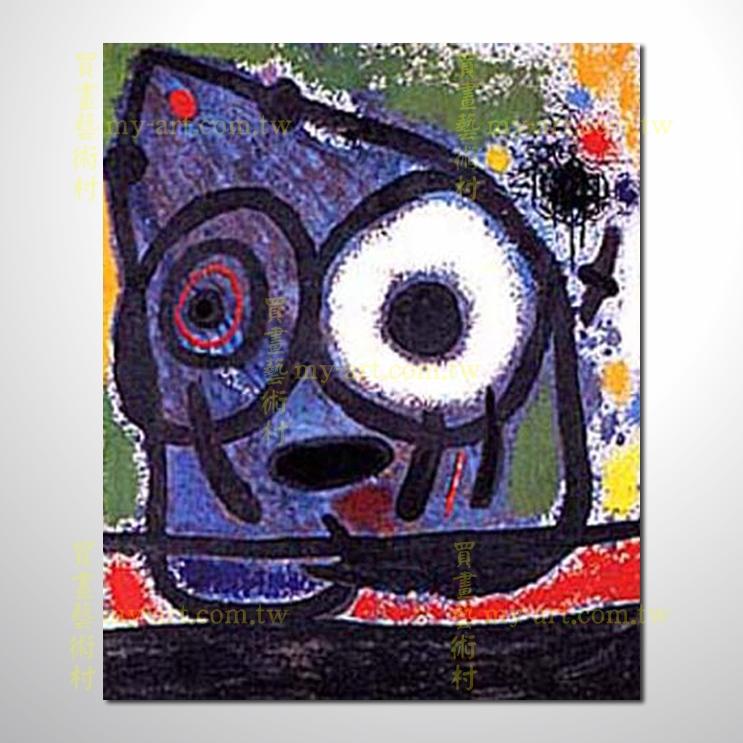 【臨摹名畫】miro1 臨摹米羅抽象畫