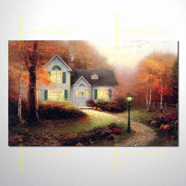 【臨摹名畫】托馬斯花園景40,橫幅,居家佈置,純手繪寫實,裝飾藝術畫,風景畫,藝術油畫,高品質油畫,精品,裝潢,居家設計最愛
