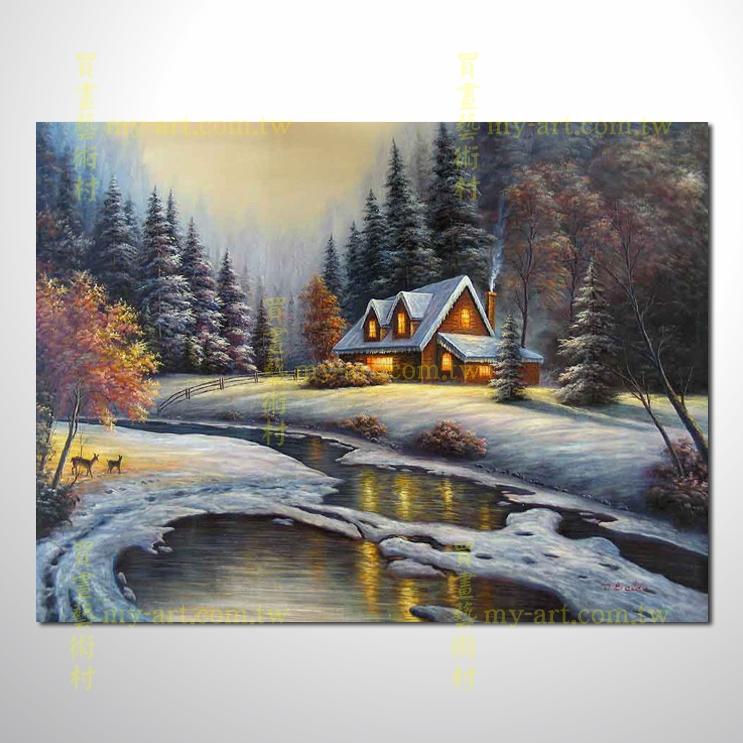 【臨摹名畫】托馬斯花園景43,橫幅,歐式風景畫,居家佈置,純手繪寫實,裝飾藝術畫,風景畫,藝術油畫,高品質油畫,精品,裝潢,居家設計最愛