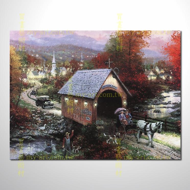 【臨摹名畫】托馬斯花園景62,橫幅,居家佈置,純手繪寫實,裝飾藝術畫,風景畫,藝術油畫,高品質油畫,精品,裝潢,居家設計最愛