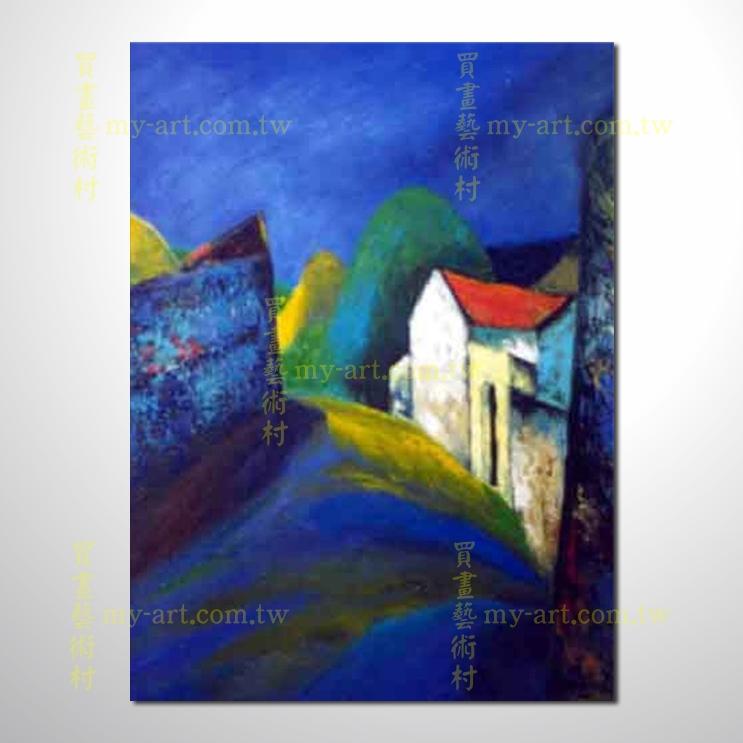 越南景31,豎幅,純手繪油畫,客製臨摹畫,裝飾掛畫,裝潢掛畫,居家佈置,門市,飯店,餐廳,民宿,辦公室,室內設計首選